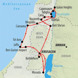 anglican-tour-of-the-holy-land-map