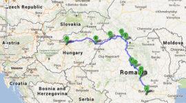 jewish-treasures-of-budapest-and-romania-map
