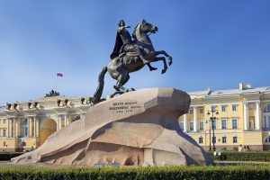 Monument to Peter the Great, St. Petersburg, Russia, Little Tour of Russia