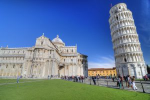 Gems of Italy Tour. Piazza dei miracoli, Pisa