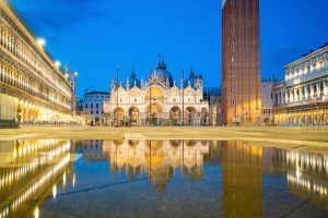 San Marco square with Saint Mark's Basilica, Gems of Italy Tour