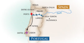 The map of Follow Me To Portugal