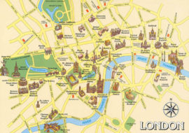 The map of London by Stage, Page and Plate with Bonnie Stern and Scott Sellers