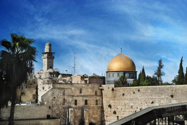 TheOld City of Jerusalem. Al Aqsa and Western Wall, Jerusalem, Israel