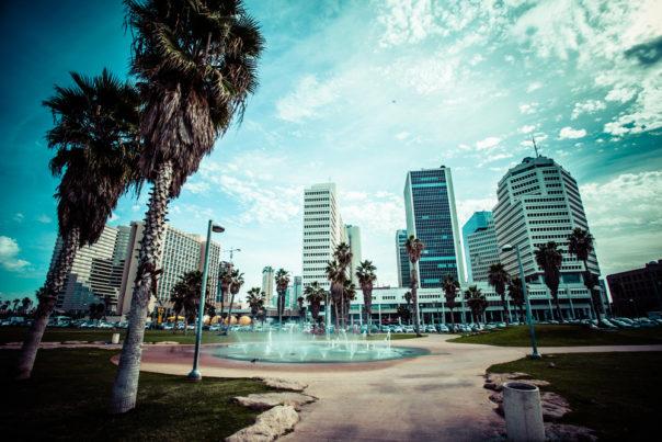 View of Tel Aviv, Israel.