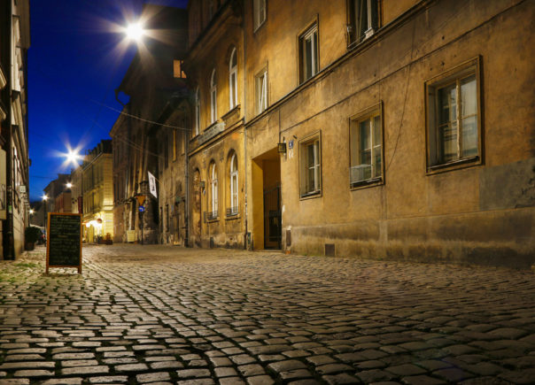 The Kazimierz quarter, Krakow. Poland