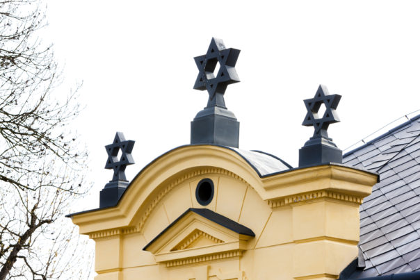 Jewish Quarter in Trebic.