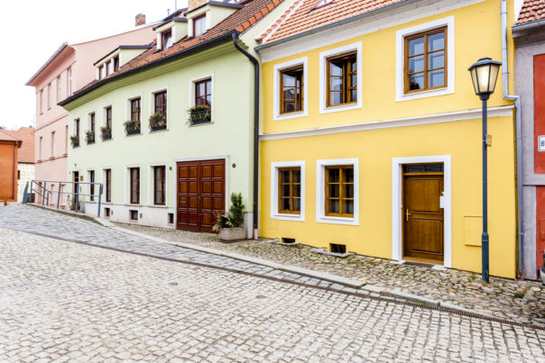 Jewish Quarter, Trebic, Czech Republic