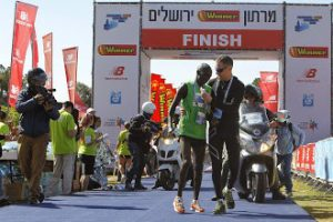 THE EIGHTH INTERNATIONAL JERUSALEM WINNER MARATHON MARCH 2018