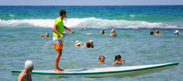 SUP Tourism in Israel. Why Not?