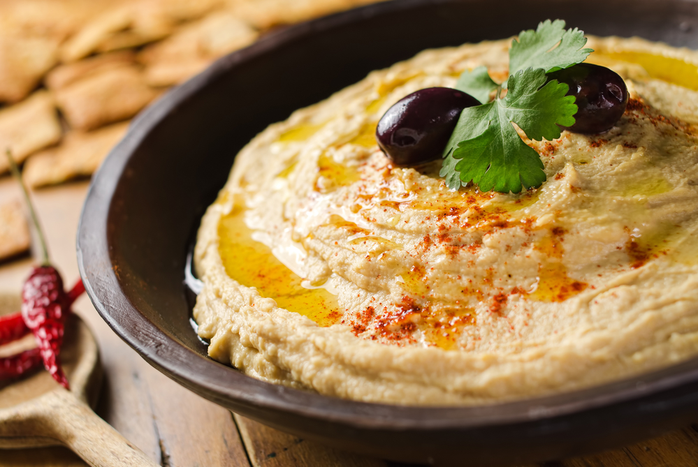 Israeli hummus