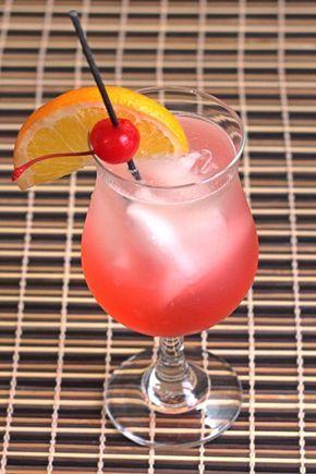 Mount Temple cocktail: sweet mystique
