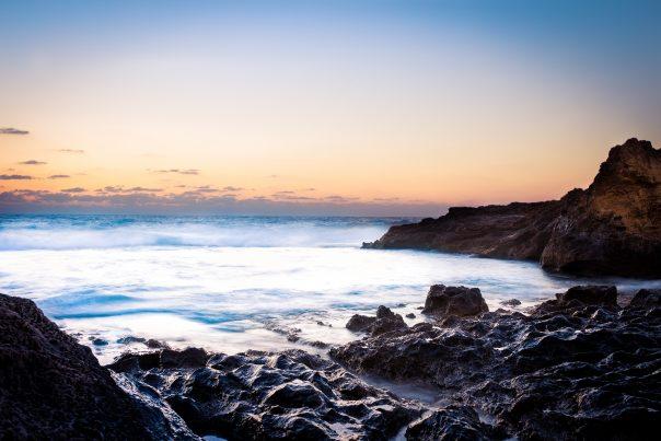 Dor HaBonim Beach Sunset