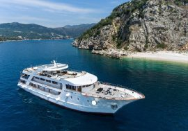 The map of Adriatic Cruise, 8 days / 7 nights