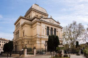 Italy Bar-Bat Mitzvah Tour, 11 days/10 nights. Great Synagogue of Rome, Italy