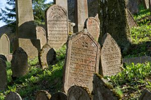 Jewish cemetery in Trebic, Jewish Tour to the Czech Republic.