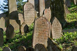 Jewish cemetery in Trebic, Jewish Tour to the Czech Republic.
