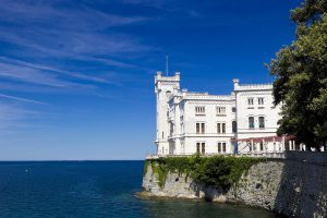 Italy Bar-Bat Mitzvah Tour, 11 days/10 nights. Miramare Castle, Italy