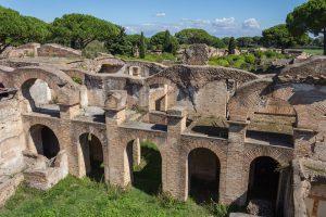 Italy Bar-Bat Mitzvah Tour, 11 days/10 nights. Ostia Antica ruins, Italy