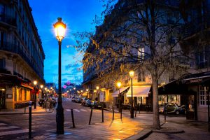 Jewish Tour to France, 9 days/8 nights. Paris beautiful street