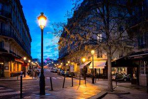 Jewish Tour to France, 9 days/8 nights. Paris beautiful street