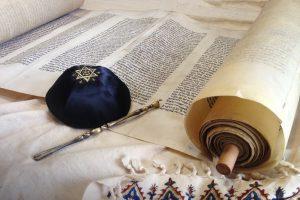 Torah scroll with Kippah, Italy Bar-Bat Mitzvah Tour