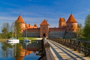 Island castle in Trakai, Jewish Heritage in the Baltics