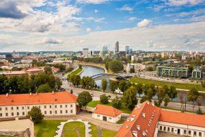 Panoramic view of Vilnius, Jewish Heritage in the Baltics