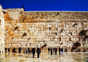 The Western Wall in the Old City of Jerusalem, Jewish Heritage Tour to Israel with Eilat