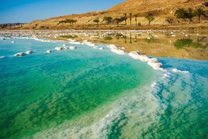 Boutique Small Group Tour to Israel - November 2019, 11 days/10 nights. Dead Sea coastline