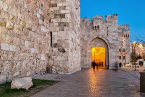 Jewish Heritage Tour to Israel with Eilat, 14 nights. Tower of David.