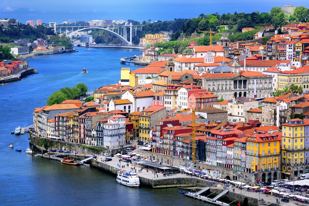 Jewish Heritage Tour in Porto, Old town of Porto, and the river Douro, Portugal