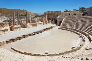 Jewish Heritage Tour to Israel with Eilat, Roman amphitheater in Beit Shean