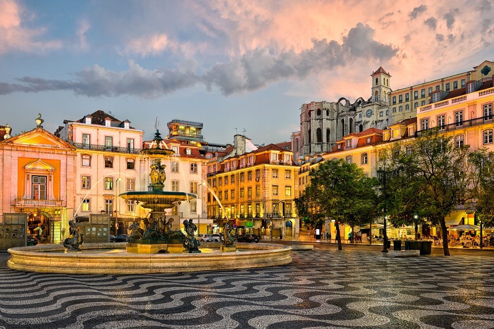 Jewish Heritage Tour in Lisbon, Rossio square in Lisbon