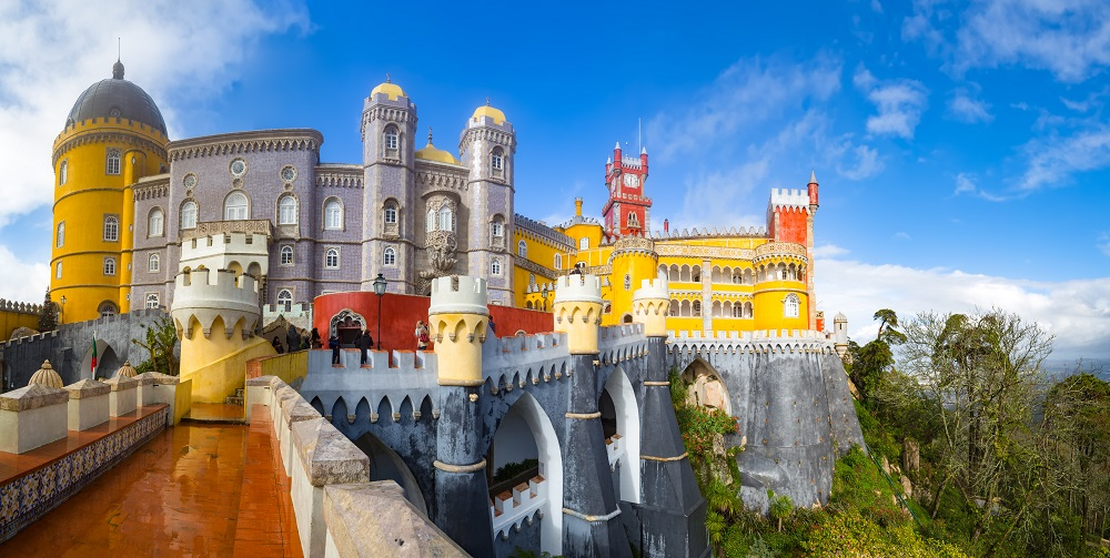 Jewish Heritage Tour to Lisbon & Sintra, View of Palace da Pena - Sintra, Lisbon, Portugal