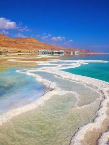 Jewish Heritage Tour to Israel, 11 nights. Israeli coast of the Dead Sea