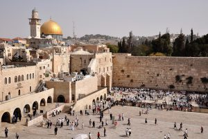 Small Group Tour to Israel 2018, 11 days/10 nights. The Wailing Wall and Dome of the Rock