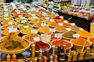 Spring Accessible Multicultural Tour, 11 days/10 nights. Cinnamon and anise at Yehuda Market, Israel