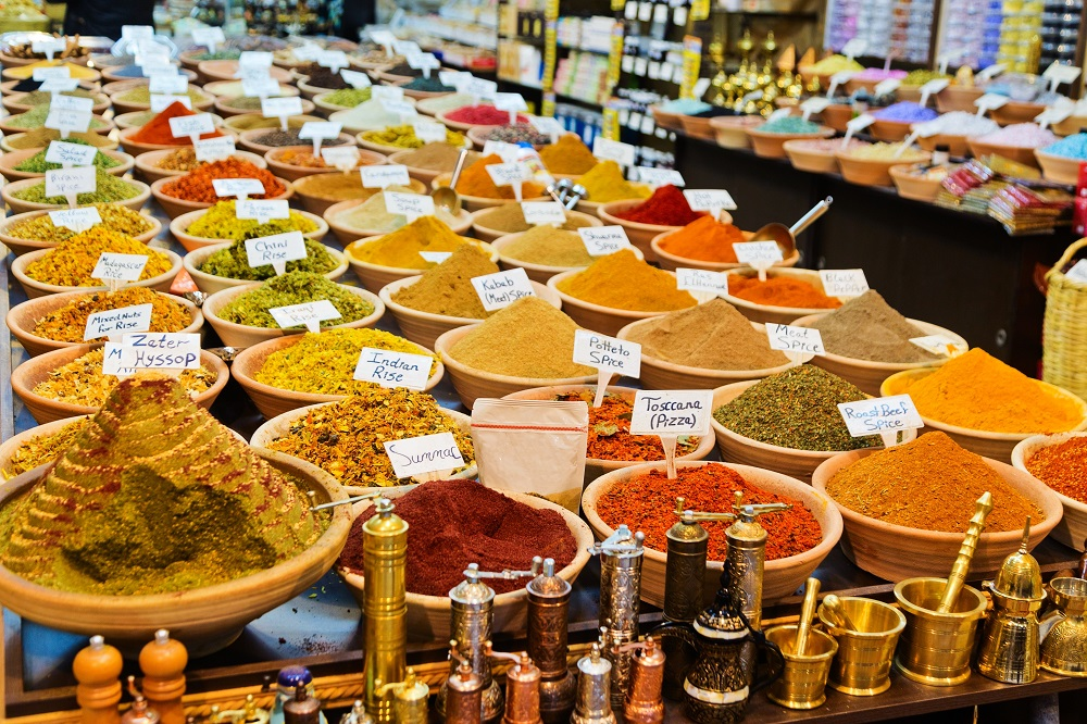 accessible multicultural tour,Cinnamon and anise at Yehuda Market, Israel