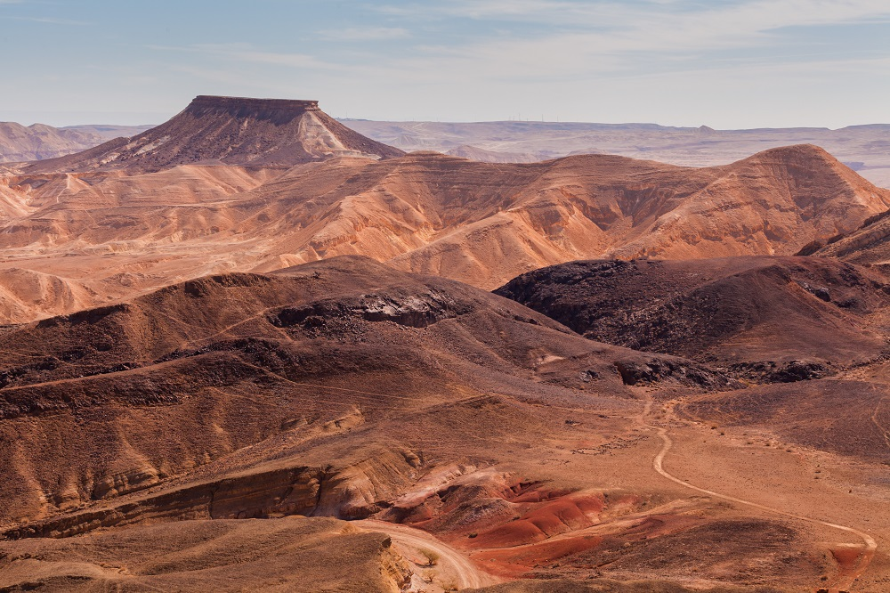 Makhtesh Ramon Crater. Small Group Tour to Israel