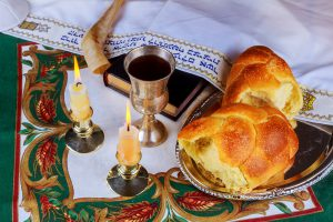 Boutique Small Group Tour to Israel - November 2019, 11 days/10 nights. Shabbat eve table