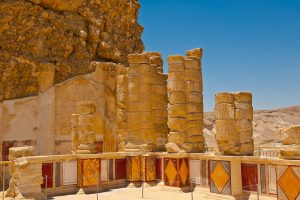 Ruines de la forteresse Masada, Circuit en français de 8 jours en Terre Sainte - départ dimanche