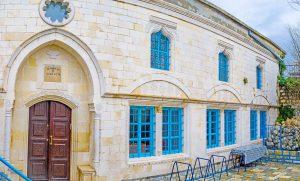 Synagogue de Abuhav dans la vieille ville de Safed. Circuit en français avec Jordanie
