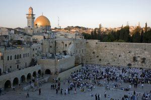 Montagne du Temple à Jérusalem - Le Mur Ouest. Circuit en français avec Jordanie