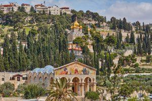 Basílica de la agonía Jerusalén, Circuito Tierra Santa (Llegada - Domingos)