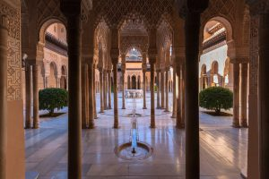 Luxurious Kosher tour to Southern Spain, Gibraltar, Morocco and Portugal. Alhambra Palace in Granada, Spain,