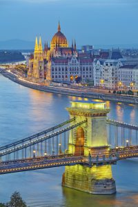 Jewish Heritage in Central Europe, 14 days/13 nights. Budapest in night light, Jewish Heritage in Central Europe