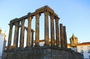 Luxurious Kosher tour to Southern Spain, Gibraltar, Morocco and Portugal. Temple of Évora