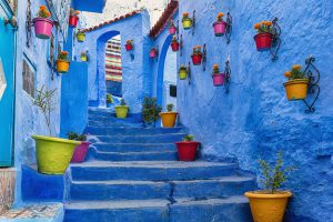 Luxury Jewish Heritage Tour Morocco. Chefchaouen medina in Morocco, Luxury Jewish Heritage Tour Morocco