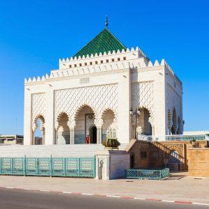 Luxury Jewish Heritage Tour Morocco. The Mausoleum of Mohammed V, Luxury Jewish Heritage Tour Morocco